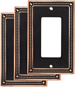 Franklin Brass W35060M-VBC-C Wall Plate (3 Pack), 3-Pack, Bronze with Copper Highlights
