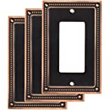 Franklin Brass W35060M-VBC-C Wall Plate (3 Pack), 3-Pack, Bronze with Copper Highlights, 3 Count