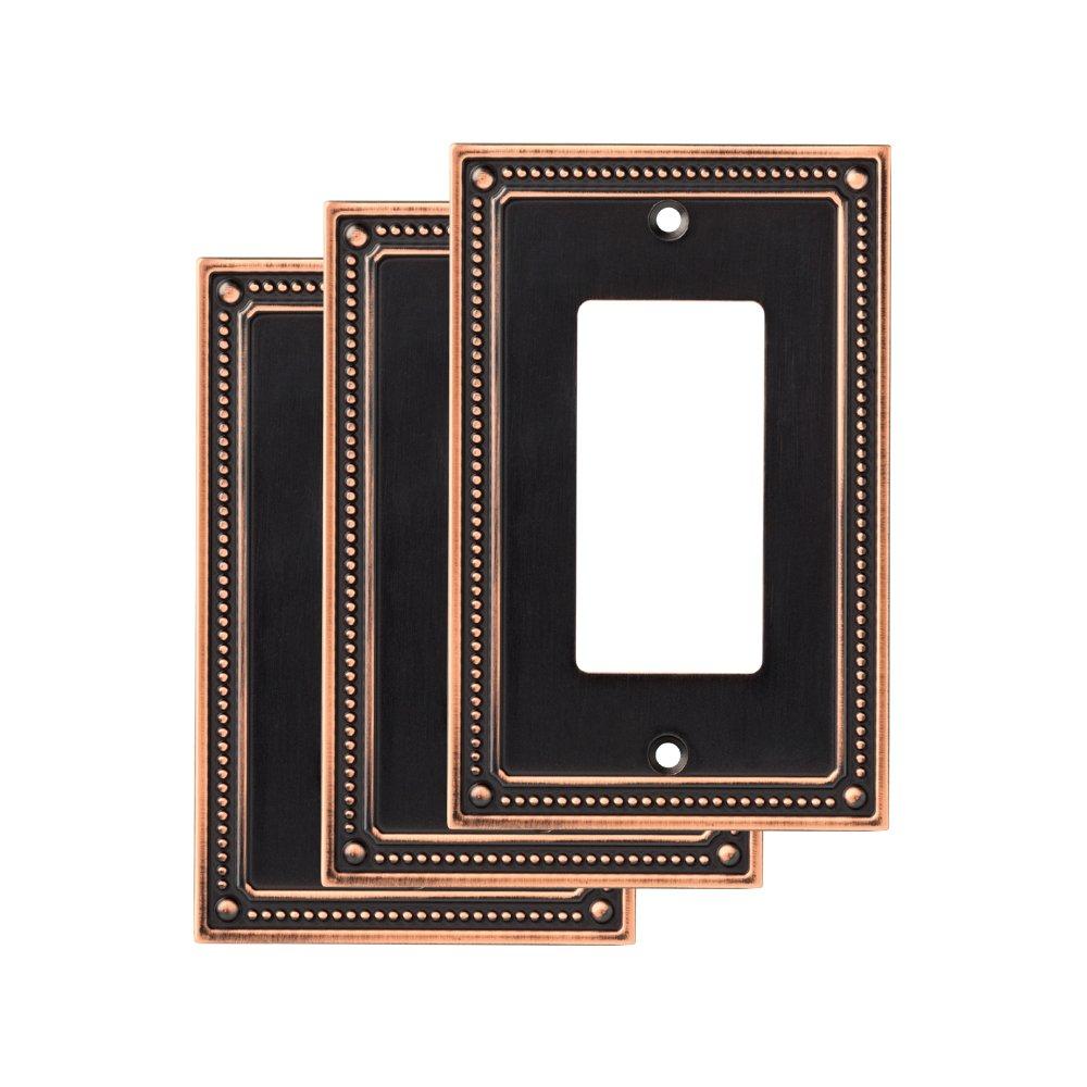 Franklin Brass W35060M-VBC-C Wall Plate (3 Pack), Bronze/Copper