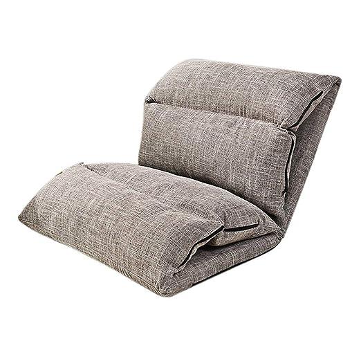 KJRJSF Inicio Ajustable Plegable Lazy SofaPosition Relax ...