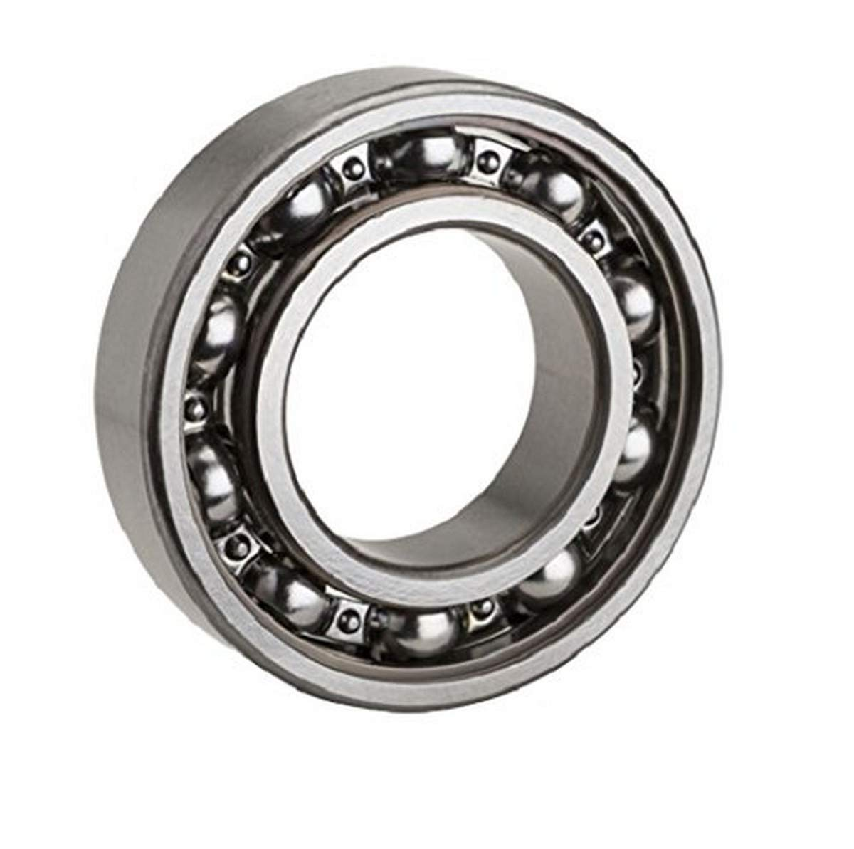 6306 Bearing Deep Groove Open Ball Bearings 30mm Steel Axle Low Friction No Drag