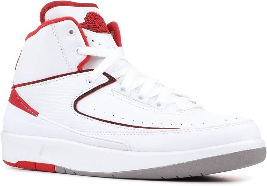 65d4d35dba3bc8 NIKE air Jordan 2 Retro BG hi top Trainers 395718 Sneakers Shoes (UK 5 US