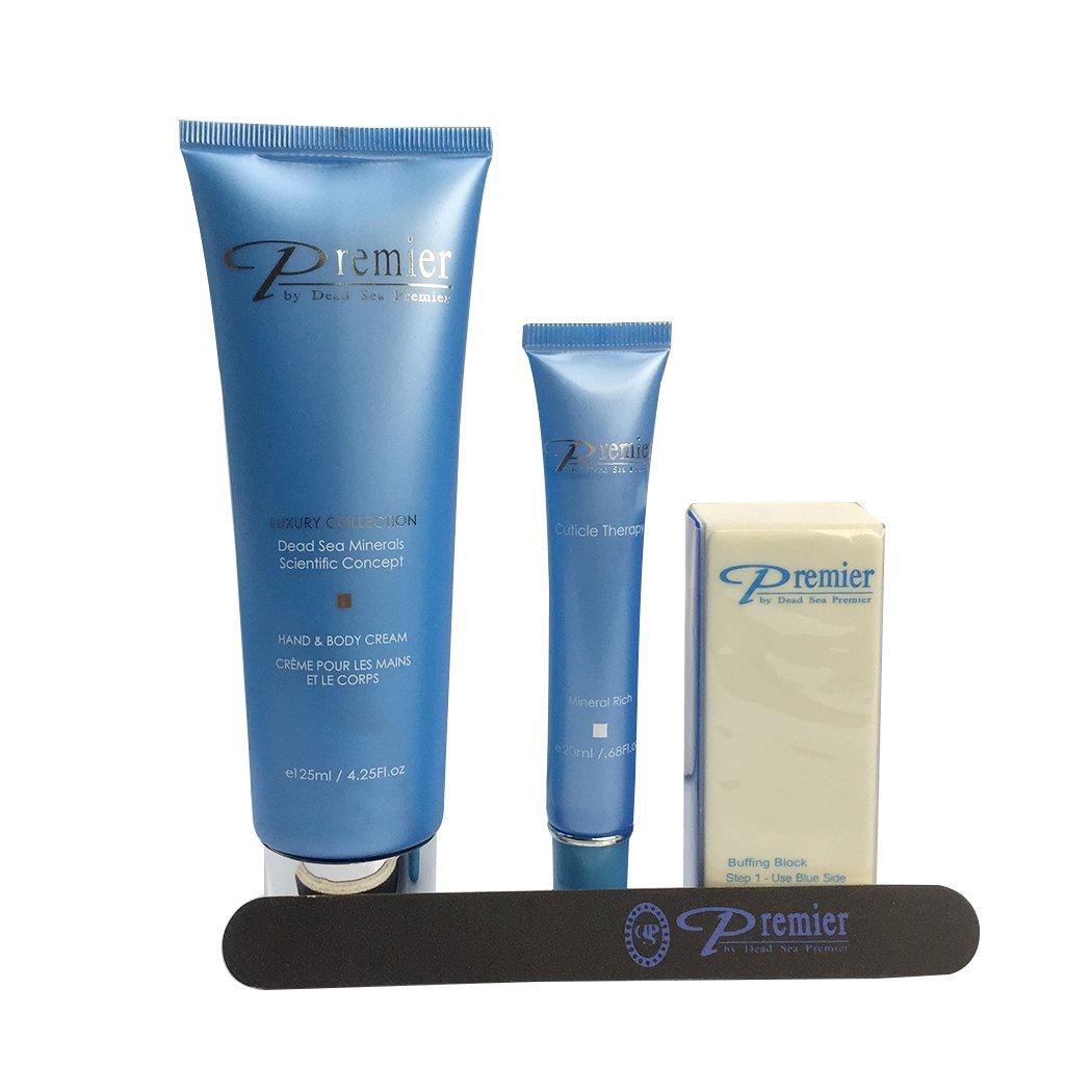 Dead Sea Premier Kit - Hand Cream 125ml and Foot Cream 125ml