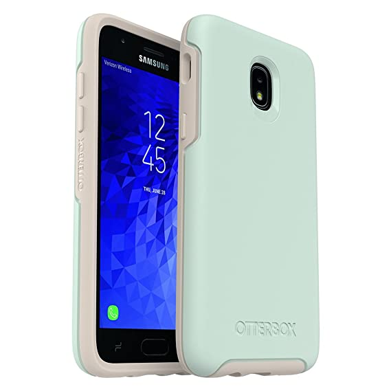 promo code 8bfbf 00418 OtterBox Symmetry Series Case for Samsung Galaxy J3/J3 (2018)/J3 V 3rd  gen/J3 3rd gen/Amp Prime 3/J3 Star - Retail Packaging - Muted Waters (SURF  ...