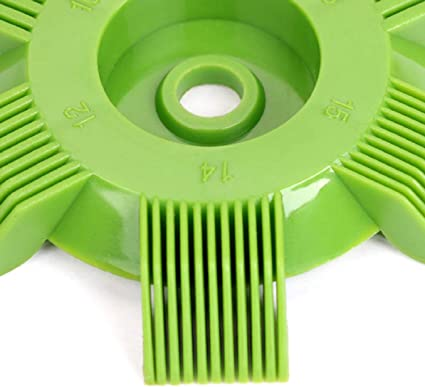 WEIWEITOE Universal Plastic Car A//C Radiator Condenser Evaporator Fin Straightener Coil Comb for Auto Cooling System Tool,green/&red,
