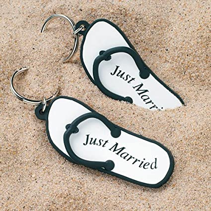 9712a184a15ff Image Unavailable. Image not available for. Color  Wedding Favors Mini Flip  Flop ...