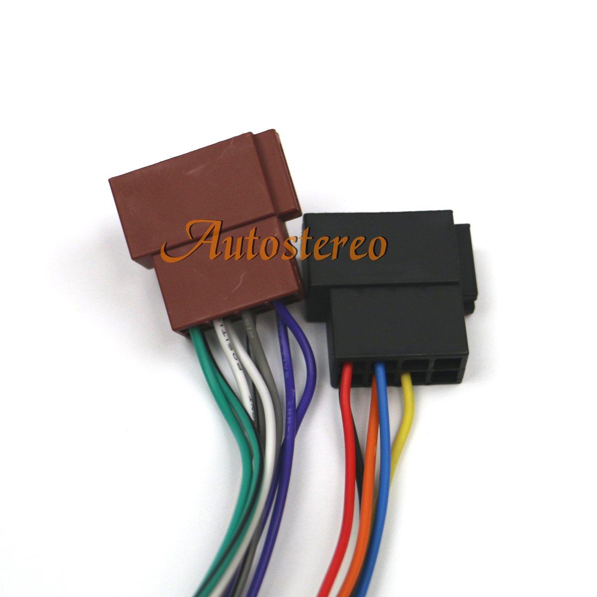 ISO head-unit cavo per Pioneer deh-series 2010 ZWNAV ISO Auto Radio Stereo Audio Cable 15-107 cablaggio standard ISO per Pioneer deh-series 16 poli 23 x 10 mm