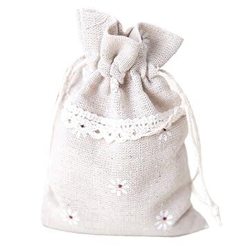 westeng lino cordón bolsas joyería accesorios bolsa de ...