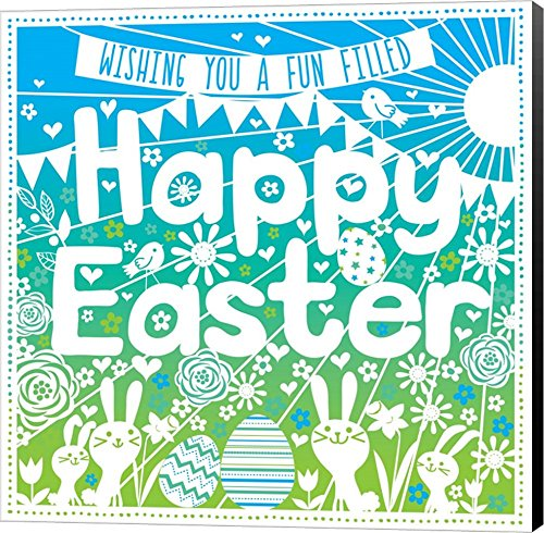 Happy Easter Wishes by P.S. Art Studios Canvas Art