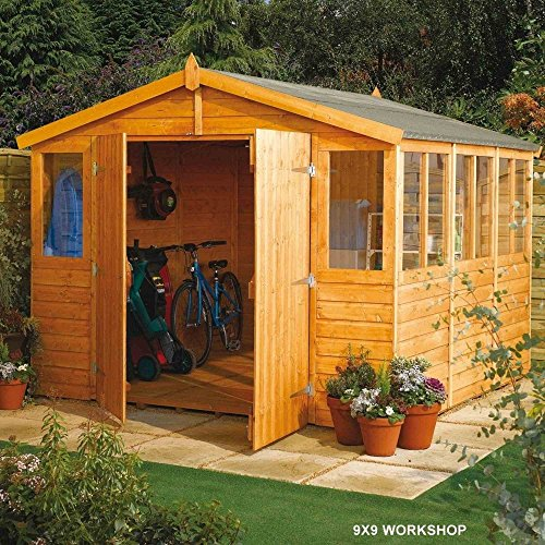 Garden Shed Storage Solution Garden Sheds and Summerhouses