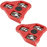 CyclingDeal Compatible with Peloton Look Delta (9 Degree) Bike Cleats - Indoor Cycling & Road Bike Bicycle Cleat Set…