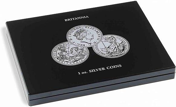 Estuche para 20 Monedas de Plata Britannia (1 oz.) en cápsulas: Amazon.es: Juguetes y juegos