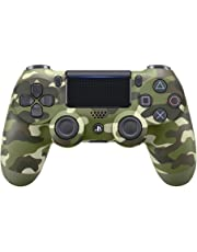 Manette Dual Shock 4 V2 pour PS4 - Vert camouflage