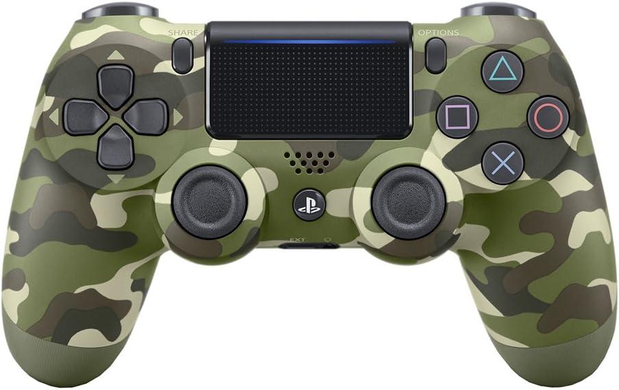 Import Cee - Mando Dualshock 4, Color Verde Camouflage - Reedición (PS4) [importación]