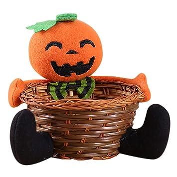 Halloween Deko Kinder Covermason Puppe Obst Schale Dekoration