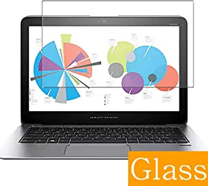 """Synvy Tempered Glass Screen Protector for HP EliteBook Folio 1020 G1 12.5"""" Visible Area Protective Screen Film Protectors 9H Anti-Scratch Bubble Free"""