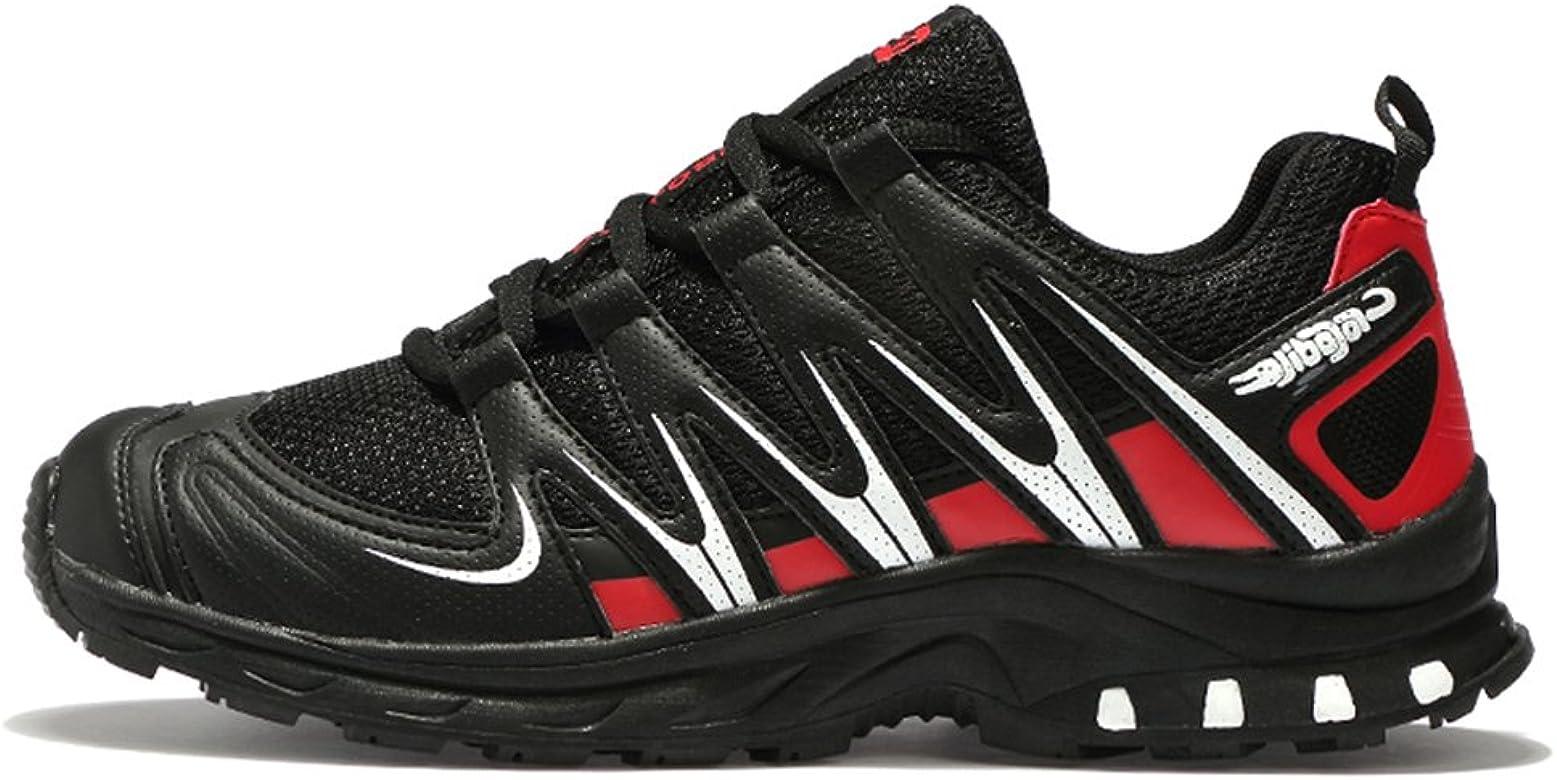 JEDVOO Zapatillas de Senderismo Zapatos para Correr en Montaña y ...