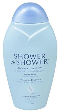 SHOWER TO SHOWER Body Powder Morning Fresh 8 oz Pack of 5