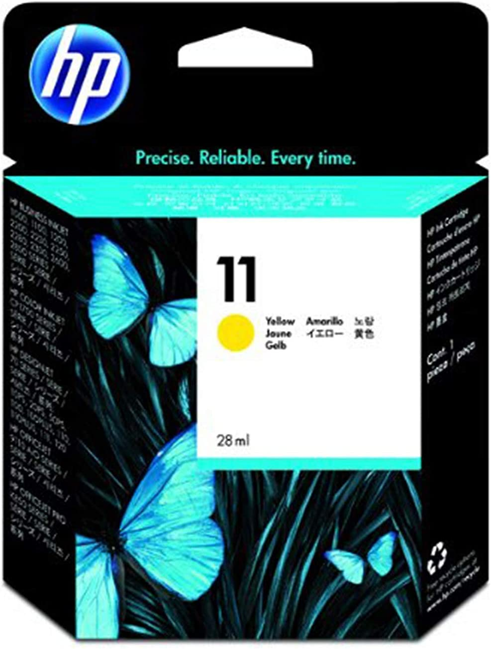 HP 11 | Ink Cartridge | Yellow | C4838A