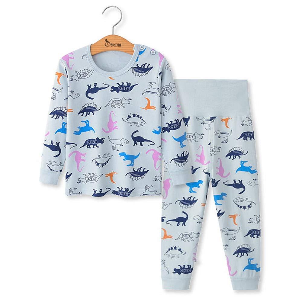 Chickwing Toddler Baby Girls Boys Pajama Set High Waist Sleepwears Pjs 2-Pack