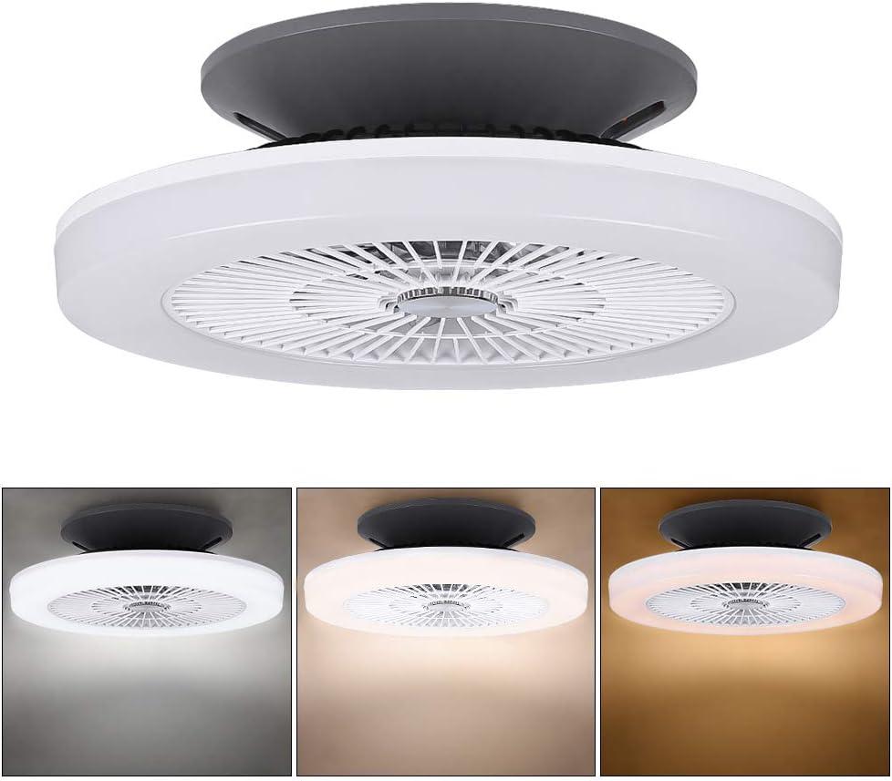 Ventilador de Techo con Luz y Mando a Distancia (Ventilador de techo con luz 03)