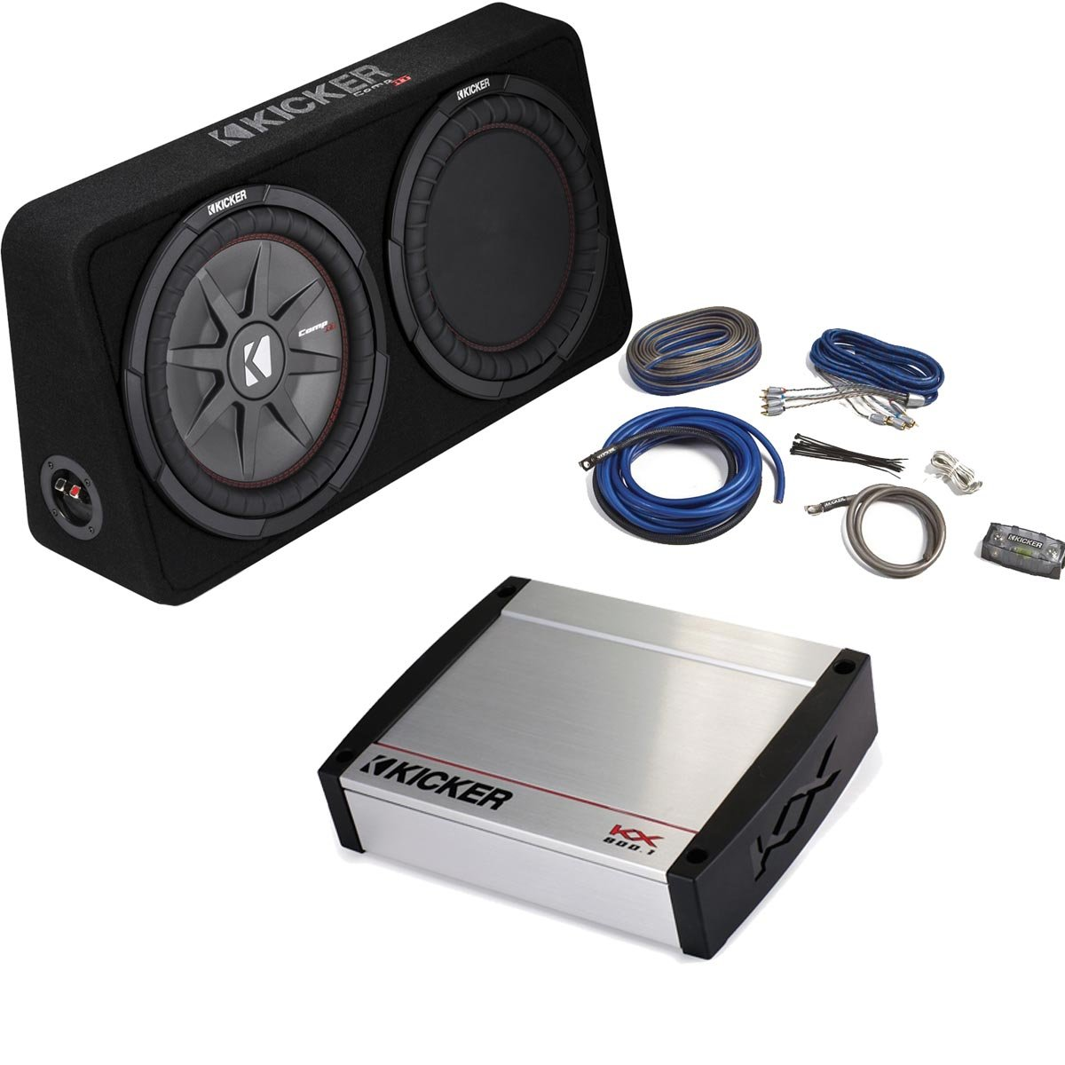 Amazon.com: Kicker Bass Package - 43TCWRT122 12\