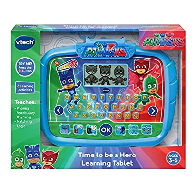 VTech PJ Masks Time to Be A Hero Learning Tablet: Toys & Games