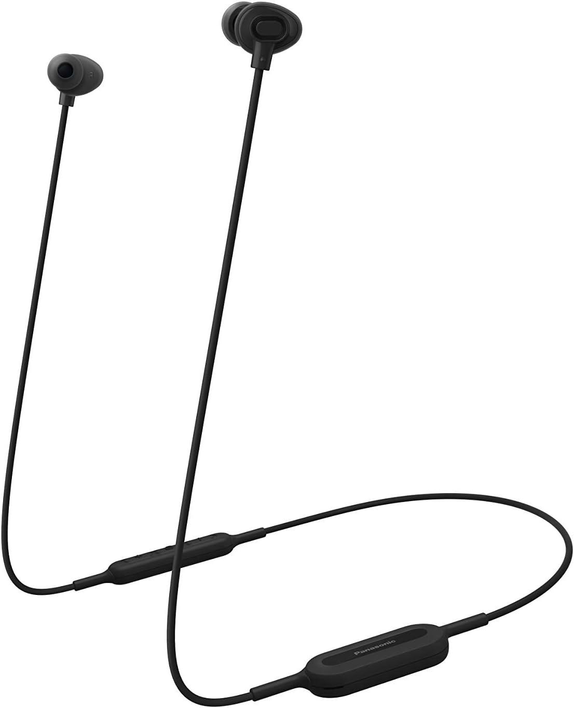 Panasonic RP-NJ310BE-K – Auriculares Inalámbricos (In-Ear, Bluetooth, 6H de Batería, Manos Libres, Control Voz, Carga Rápida, Ergo Fit Plus, Carga por USB), Color Negro