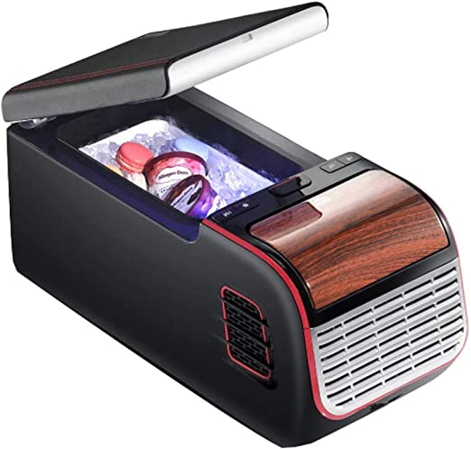 HNFYJQ Refrigerador para automóvil, Mini Caja portátil con ...