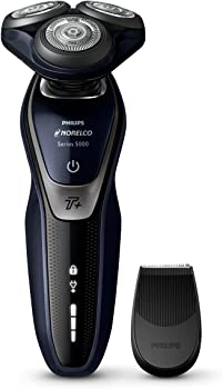 Philips Norelco 5550 Turbo+ Mode, Rechargeable Wet/Dry Electric Shaver