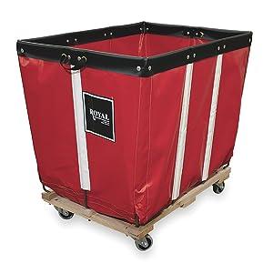 Basket Truck, 16 Bu. Cap., Red, 40 In. L