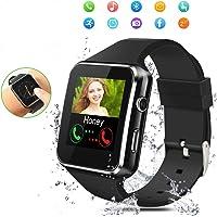 Smartwatch Bluetooth,Reloj Inteligente con Whatsapp Smartwatches con Cámara