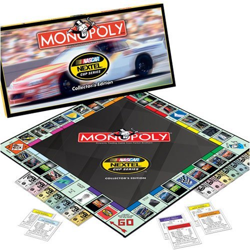 USAopoly NASCAR NEXTEL Cup Series Collector's Edition