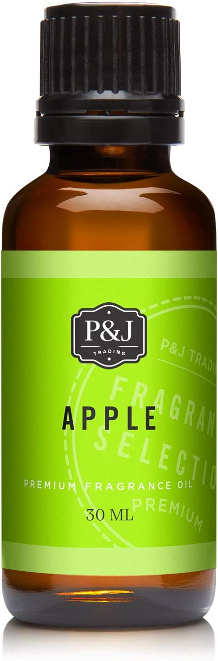 P&J Trading Apple Premium Grade Fragrance Oil - Perfume Oil - 30ml/1oz