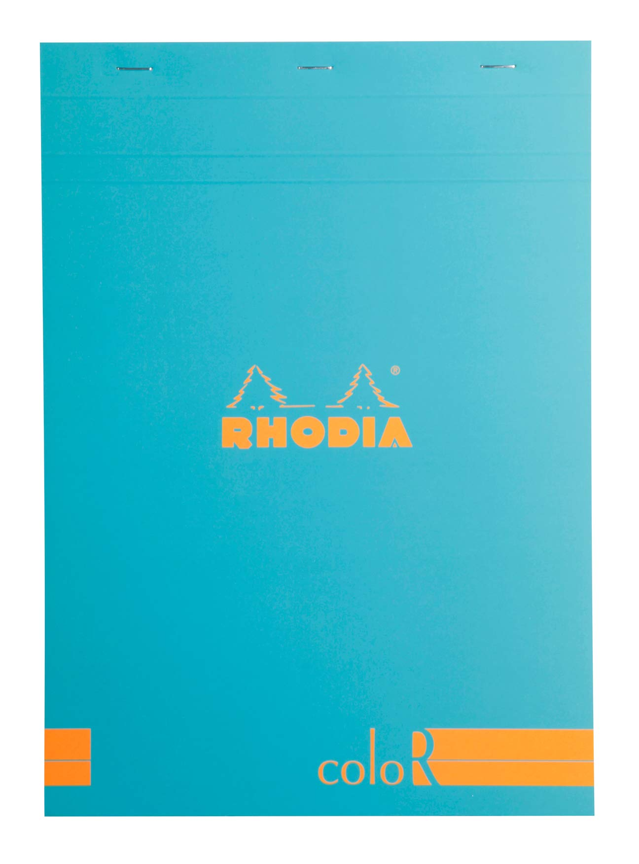 Rhodia ColoR Pad - Lined 70 sheets - 8 1/4 x 11 3/4 - Anise Cover by Rhodia
