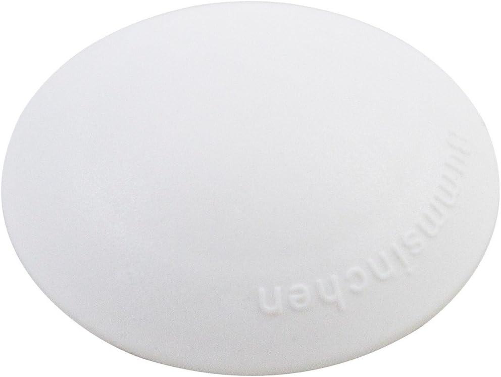 Lot de 10 /Blanc Home Xpert Hansi Porte Tampon 10/Diam/ètre 40/mm Lot de 10/x502201/ X502201-4