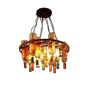 Xiao Yun ☞ / Araña Vintage Botella de Vino Tinto Lámpara de ...