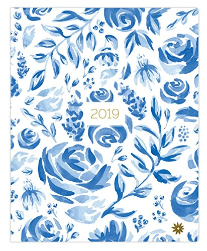 (bloom daily planners 2019 Calendar Year Monthly Planner - Goal Organizer - Monthly Datebook Fashion Agenda - January 2019 Through December 2019-9