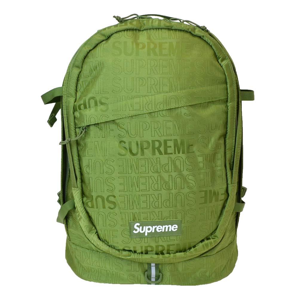 [Supreme(シュプリーム)] BACKPACK バックパック [並行輸入品] One Size オリーブ B07PR4B42J