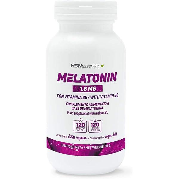 Melatonina 1,8mg de HSN Essentials | Para Dormir Mejor ...