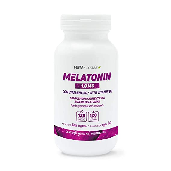 Melatonina 1,8mg de HSN Essentials | Para dormir mejor | Mejor Descanso por la