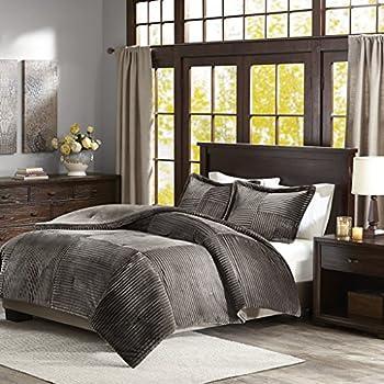 Mocha Paisley Comforter Set For Twin Bed