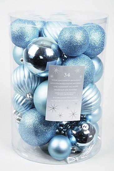 Weihnachtskugeln hellblau my blog for Christbaumkugeln blau
