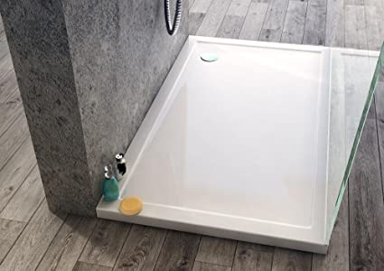 Plato de ducha 4 x 80 x 80 cm, acrílico, antideslizante-Escape ...
