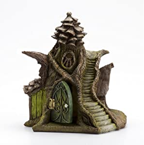 Georgetown Home and Garden Fiddlehead Fairy Merlin's Manor Fairy House