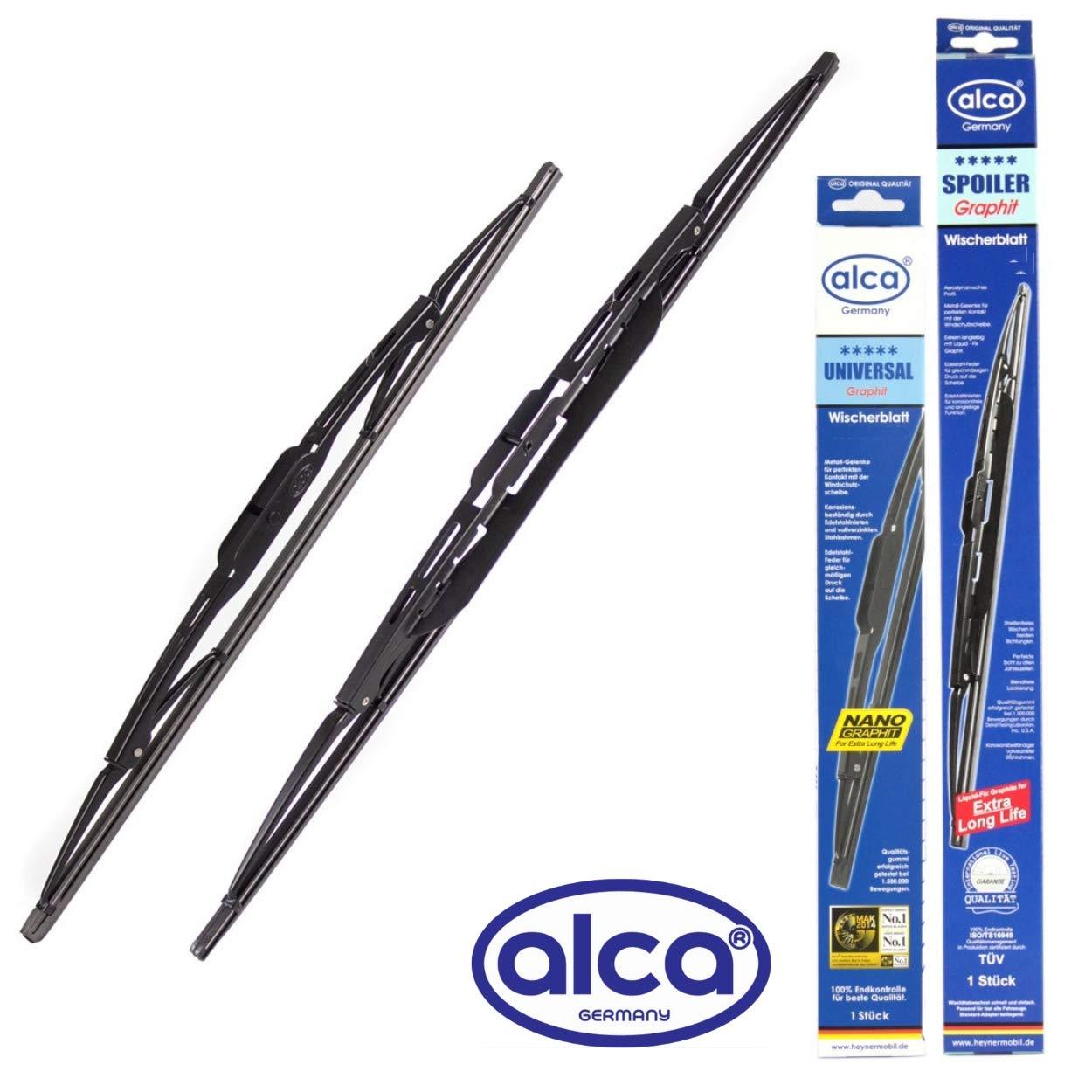 Alca Spoiler Windscreen Wiper Blades Front Replacement Set 2418 AUS2418H CX-5 2012-2016