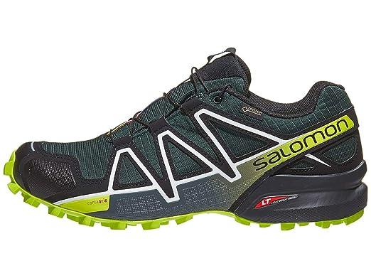 Salomon Speedcross 4 GTX Darkest SpruceBlackAcid Lime