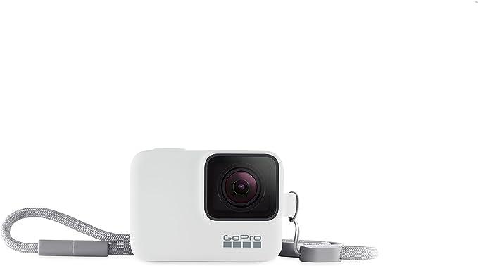 Gopro Hülle Trageband Weiß Kamera