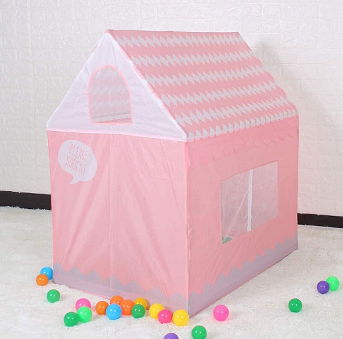 Maison de Jeu Tente de Jeu Jouets Tente pour Enfants Rose Tente de Maison pour Enfants Piscine /à balles