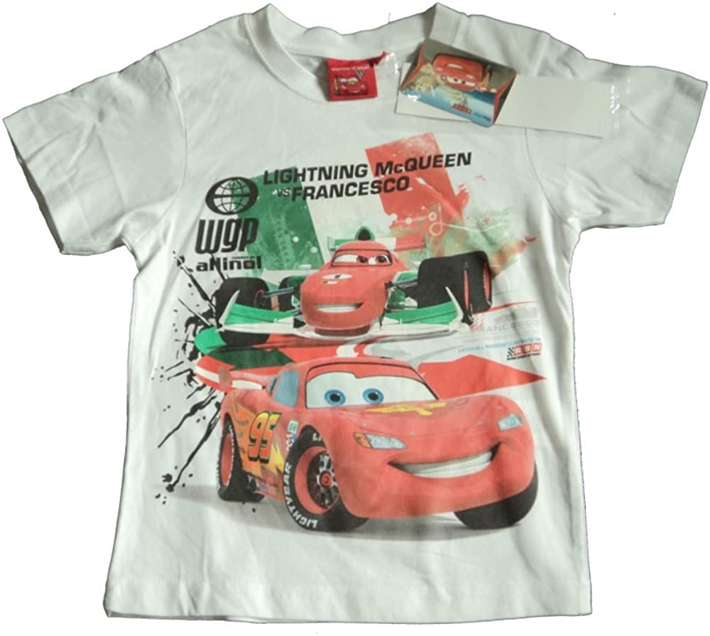 Grey Top T-Shirt for Baby Boys Lightning McQueen Disney